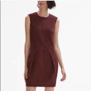 MM Lafleur Jina Stitching Shift Dress 4